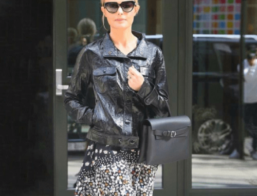Kate Bosworth Knocks Off The Chill of Fall In A Laid-Back Jacket From FRAME